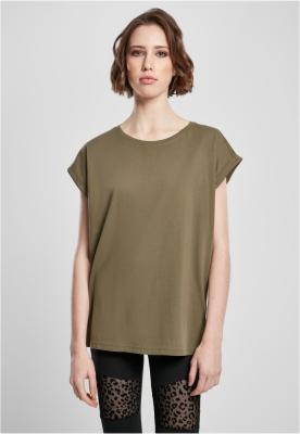 Tricou bumbac organic maneca larga pentru Femei oliv Urban Classics