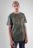 Tricou C&S WL Palmouflage oliv-sunset Cayler and Sons