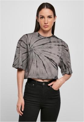 Tricou Oversized scurt Tie Dye dama Urban Classics