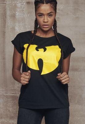 Tricou cu logo Wu-Wear pentru Femei negru