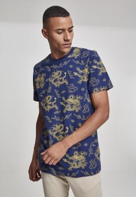Tricou Dragon bleumarin Mister Tee
