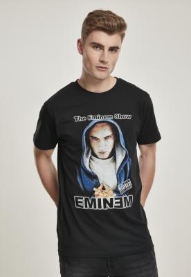 Tricou Eminem cu gluga Show negru Mister Tee