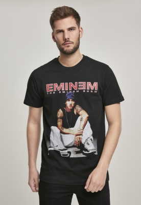 Tricou Eminem Seated Show negru Mister Tee