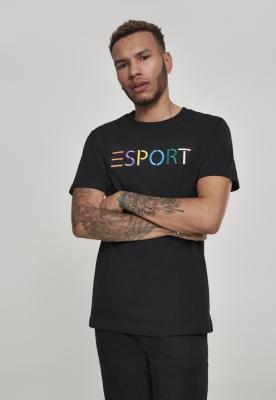 Tricou Esport negru Mister Tee
