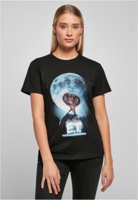Tricou E.T. Face pentru Femei negru Merchcode