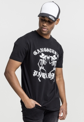 Tricou Gangsters Paradise negru Mister Tee