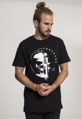 Tricou Godfather Circle negru Merchcode
