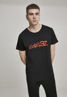 Tricou Gorillaz Logo negru Merchcode