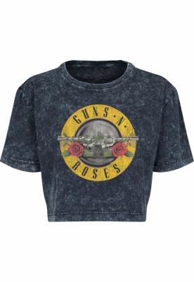 Tricou Guns n Roses lejer pentru Femei gri inchis Merchcode