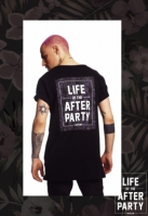 Tricou Hustler Afterparty negru Merchcode