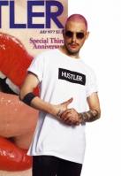 Tricou Hustler Box Logo alb Merchcode