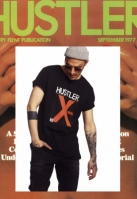 Tricou Hustler X-Rated negru Merchcode