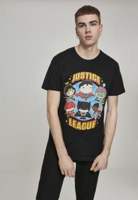 Tricou Justice League Comic Crew Fit negru Merchcode