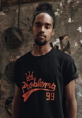 Tricou King 99 Problems negru Mister Tee