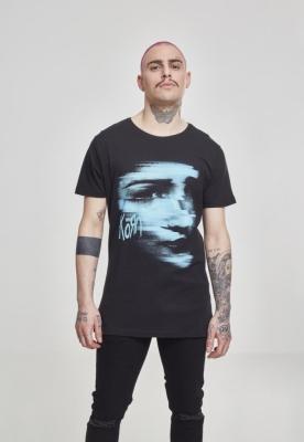 Tricou Korn Face negru Merchcode