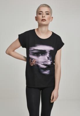Tricou Korn Face pentru Femei negru Merchcode