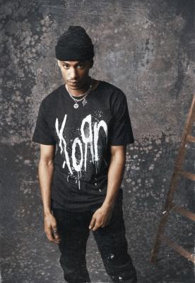 Tricou Korn Still A Freak negru Merchcode