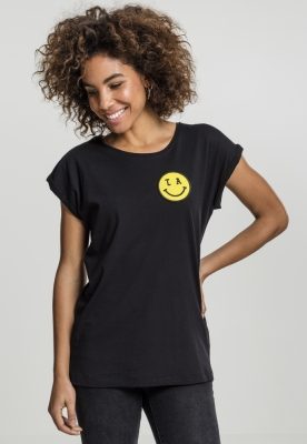 Tricou LA Smile pentru Femei negru