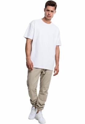 Tricou larg Heavy alb