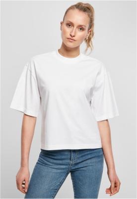 Tricou larg Organic pentru Femei alb Urban Classics