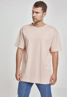 Tricou larg roz Urban Classics