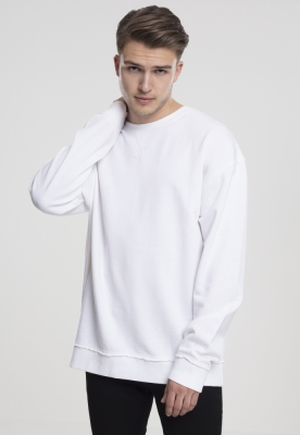 Tricou lejer cu maneca lunga alb Urban Classics