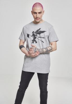 Tricou Linkin Park Street Soldier deschis-gri Merchcode