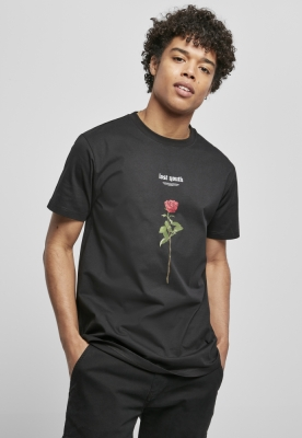 Tricou Lost Youth Rose negru Mister Tee