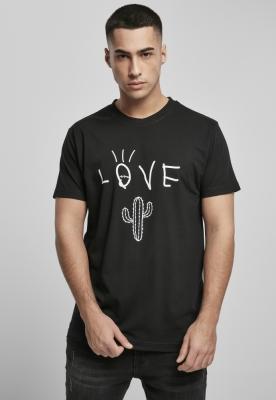 Tricou Love Cactus negru Mister Tee