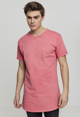 Tricou lung Garment coral Urban Classics