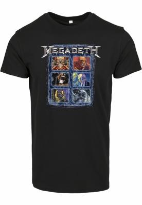 Tricou Megadeth Heads Grid Merchcode