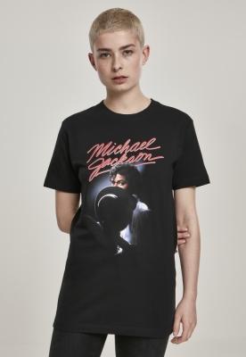 Tricou Michael Jackson pentru Femei negru Merchcode