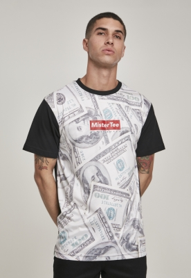 Tricou Mister Tee Dollar Sublimation negru