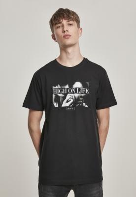 Tricou Mister Tee High On Life negru