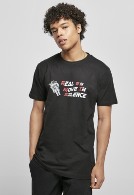 Tricou Move In Silence negru Mister Tee