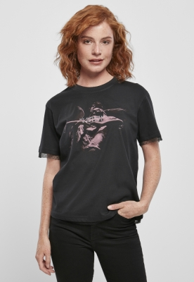 Tricou My Chemical Romance Shrine Angel Laces pentru Femei negru Merchcode