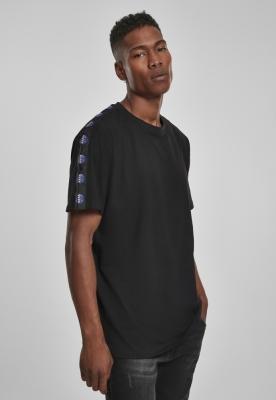 Tricou NASA Logo Taped negru Mister Tee