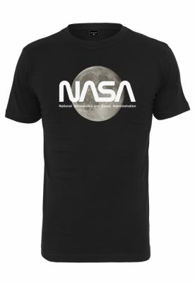 Tricou NASA Moon negru Mister Tee