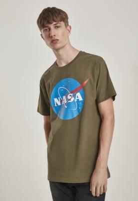 Tricou NASA oliv Mister Tee