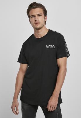 Tricou NASA Rocket Tape negru Mister Tee