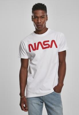 Tricou NASA Worm alb Mister Tee