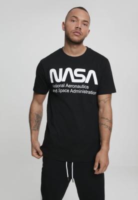 Tricou NASA Wormlogo negru Mister Tee