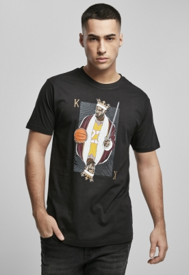 Tricou negru simplu LA King James negru Mister Tee