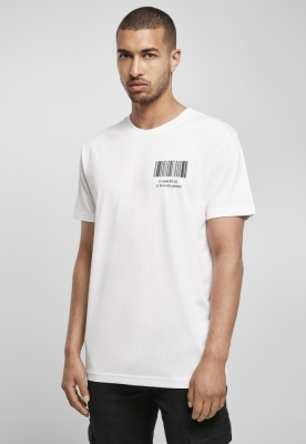 Tricou Nice Person alb Mister Tee