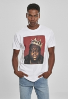 Tricou Notorious Big Crown alb Mister Tee