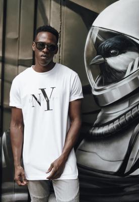 Tricou NY Brooklyn alb Mister Tee