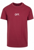 Tricou OFF EMB Mister Tee