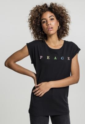 Tricou PEACE pentru Femei negru