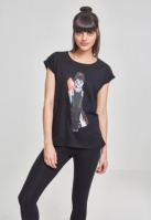 Tricou Petsrock pentru Femei pentru Femei negru