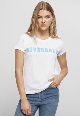 Tricou Riverdale Logo pentru Femei alb Merchcode